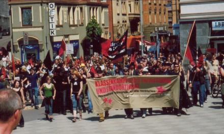 Bericht zum Revolutionären 1. Mai 2005 in Stuttgart