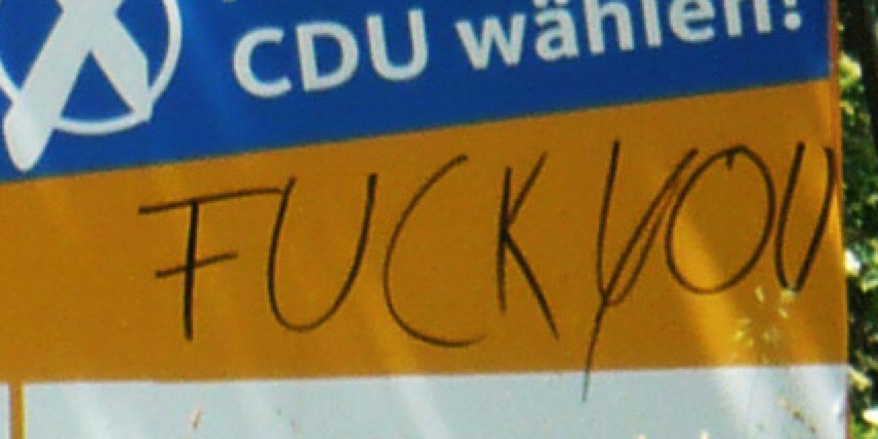 Flugschrift zur Bundestagswahl