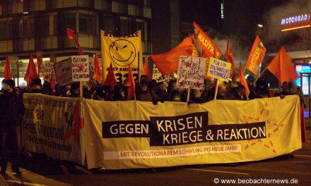 Revolutionär ins neue Jahr! Demo und Knastspaziergang