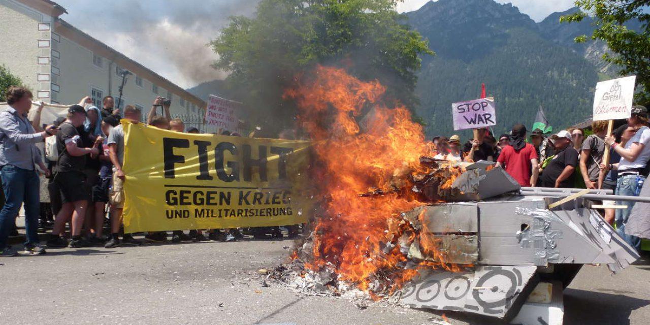 Atemlos bis zum Sturz des Kapitalismus – G7 Gipfel stürmen