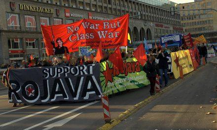 Solidarität mit Rojava – Demonstration in Stuttgart