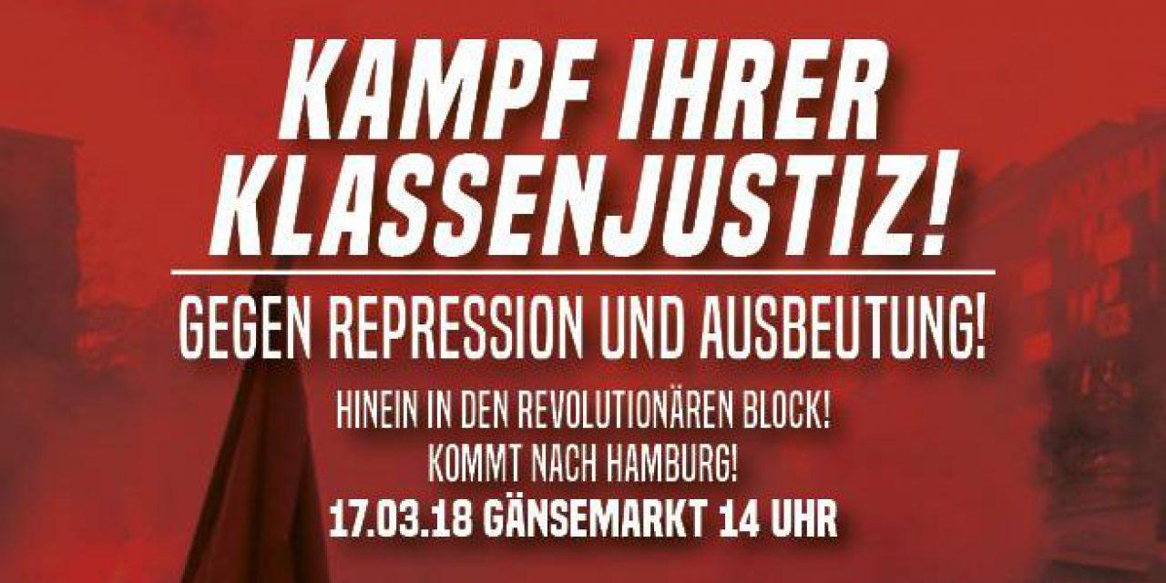 Kampf ihrer Klassenjustiz – Freiheit für alle politischen Gefangenen