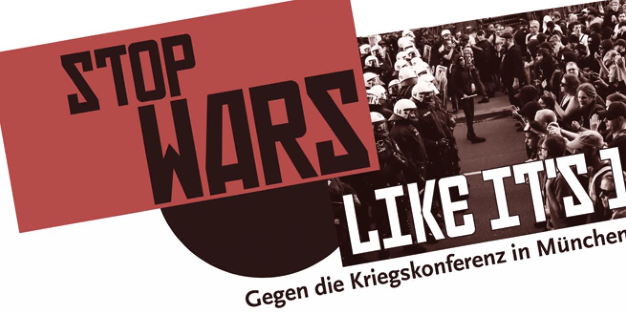 Gegen die NATO-Kriegskonferenz in München! Busfahrt aus Stuttgart