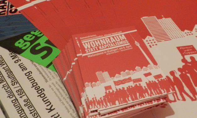 Wohnraumkampf ist Klassenkampf – Demonstration am 6. April in Stuttgart