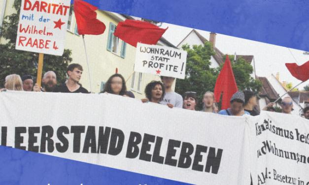 Solidarität mit den HausbesetzerInnen – Prozess und Kundgebung am 3. April
