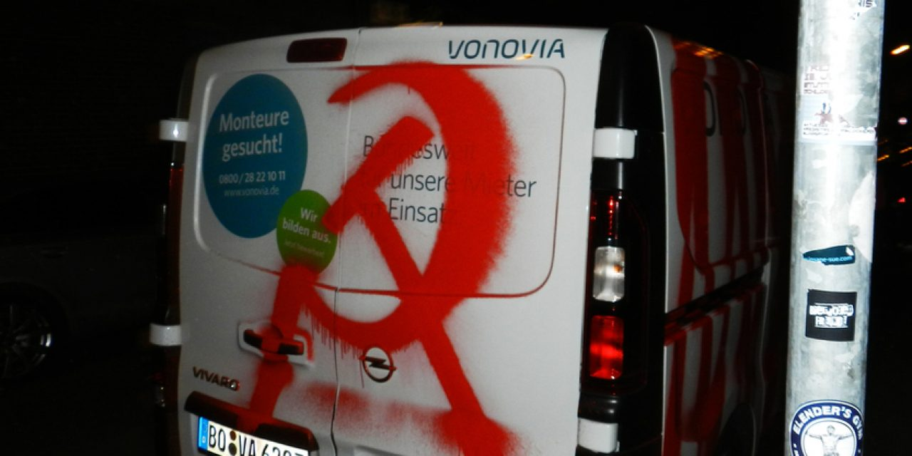 VONOVIA Auto angegriffen
