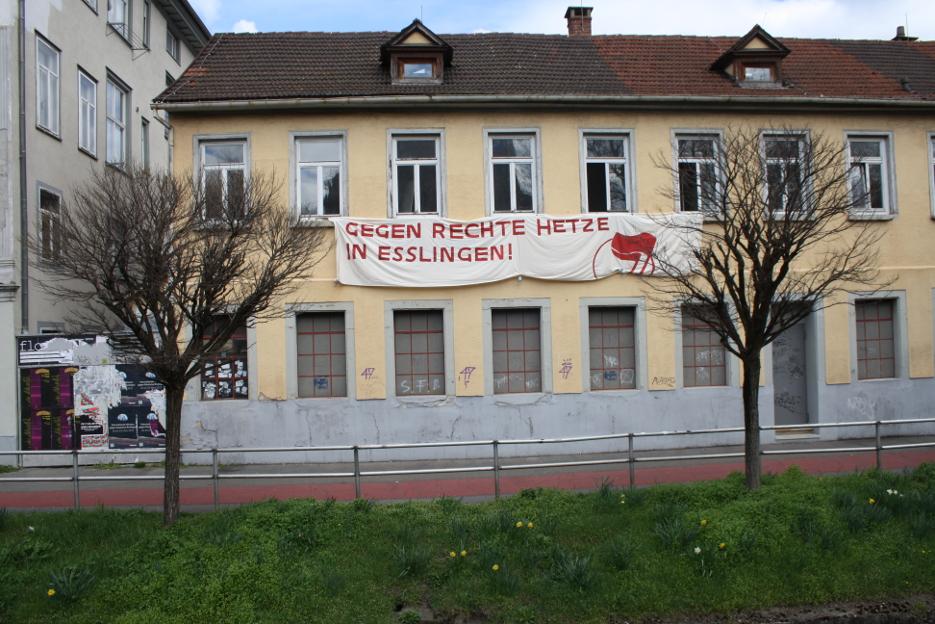 Kundgebung gegen die AFD in Esslingen