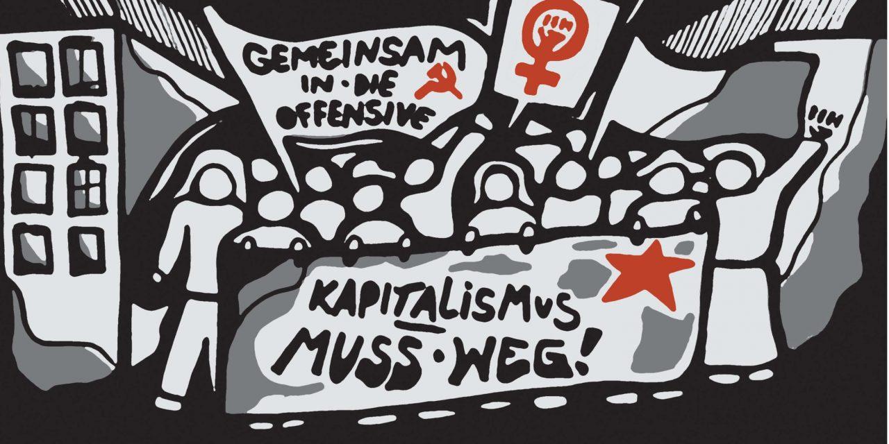 Zeitung zum Frauenstreik 2019 in der Schweiz