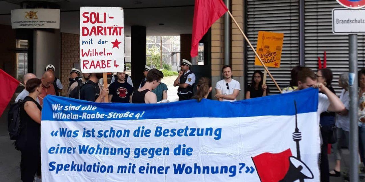 Wohnungsbesetzung – Haft auf Bewährung wegen Beleidigung, Polizeiübergriff interessiert nicht