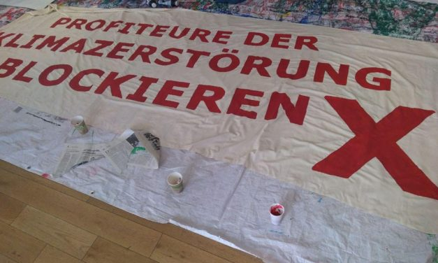 Aktionsübersicht und letzte Infos zur antikapitalistischen Beteiligung am Klimastreik