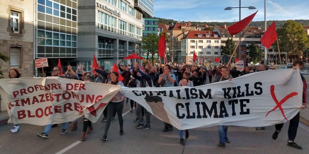 Erste Eindrücke vom Klimastreik in Stuttgart