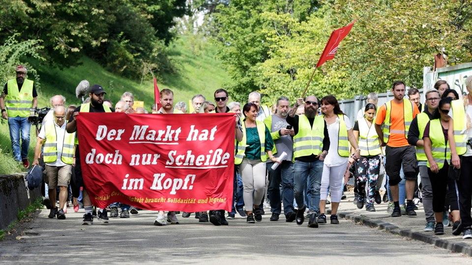 Arbeitskampf bei WMF in Geislingen!