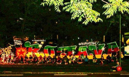 Riseup4Rojava: Über 40 Aktionen in über 16 Ländern!