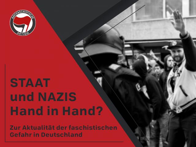Broschüre: Staat & Nazis Hand in Hand?
