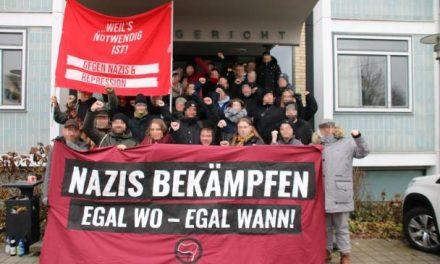 Prozessbericht: Antifaschisten zu Bewährungsstrafen verurteilt