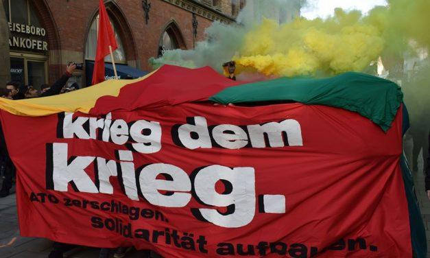 Kämpferischen Protest gegen die Siko durchgesetzt.