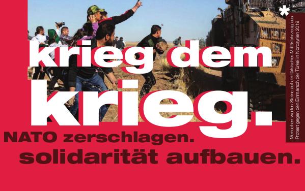 NATO zerschlagen – Solidarität aufbauen – Demo am 15. Februar in München (Aufruf und Videos)
