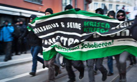 Proteste gegen die Nato-Kriegskonferenz in München