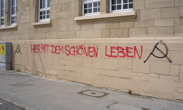Rede der Revolutionären Aktion Stuttgart am 01. Mai 2005