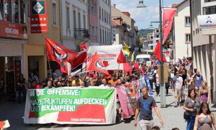 Antifa-Sommeroffensive – Demonstration in Lörrach
