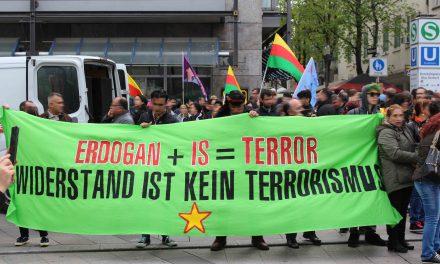Protest gegen türkische Faschisten