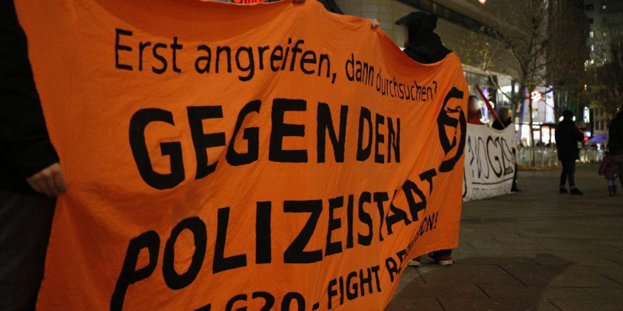 Nach G20 Hausdurchsuchungen: Repression abwehren – Kampf der Klassenjustiz