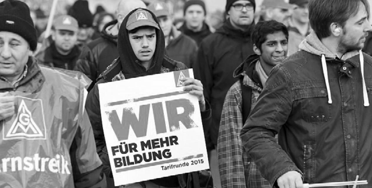 Erste Ausgabe der Betriebszeitung Solidarität