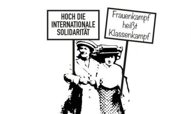 Heraus zum internationalen Frauenkampftag 2018