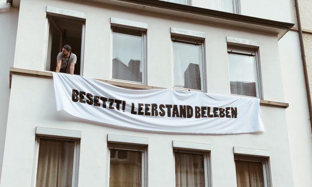 #leerstandbeleben – Wohnungen in Heslach bleiben weiter besetzt!