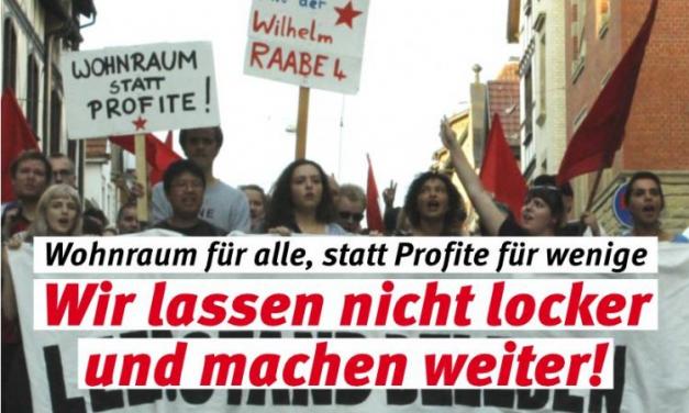 Zwangsräumung und Proteste: Der Widerstand gegen Gentrifizierung geht weiter!
