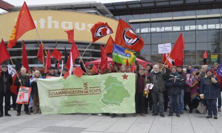 Kundgebung in Rudersberg
