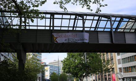 Soliaktionen zum Hungerstreik in der Türkei