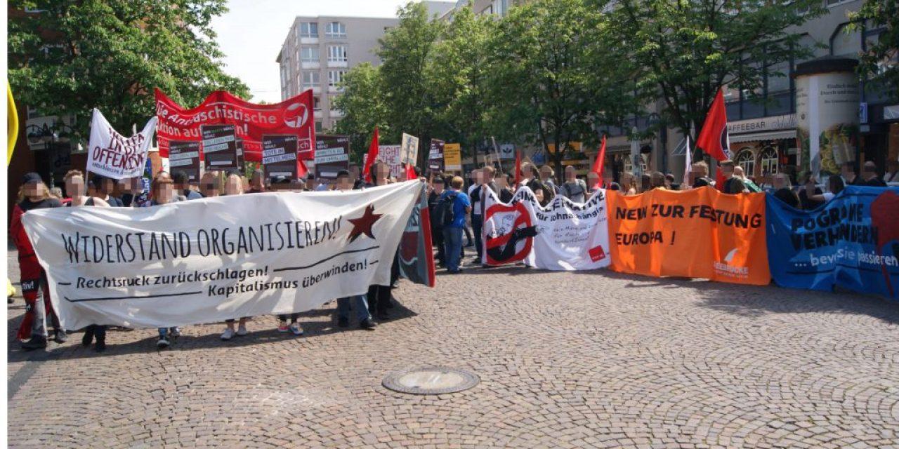 Bericht und Bilanz zur Antifa Demo in Karlsruhe
