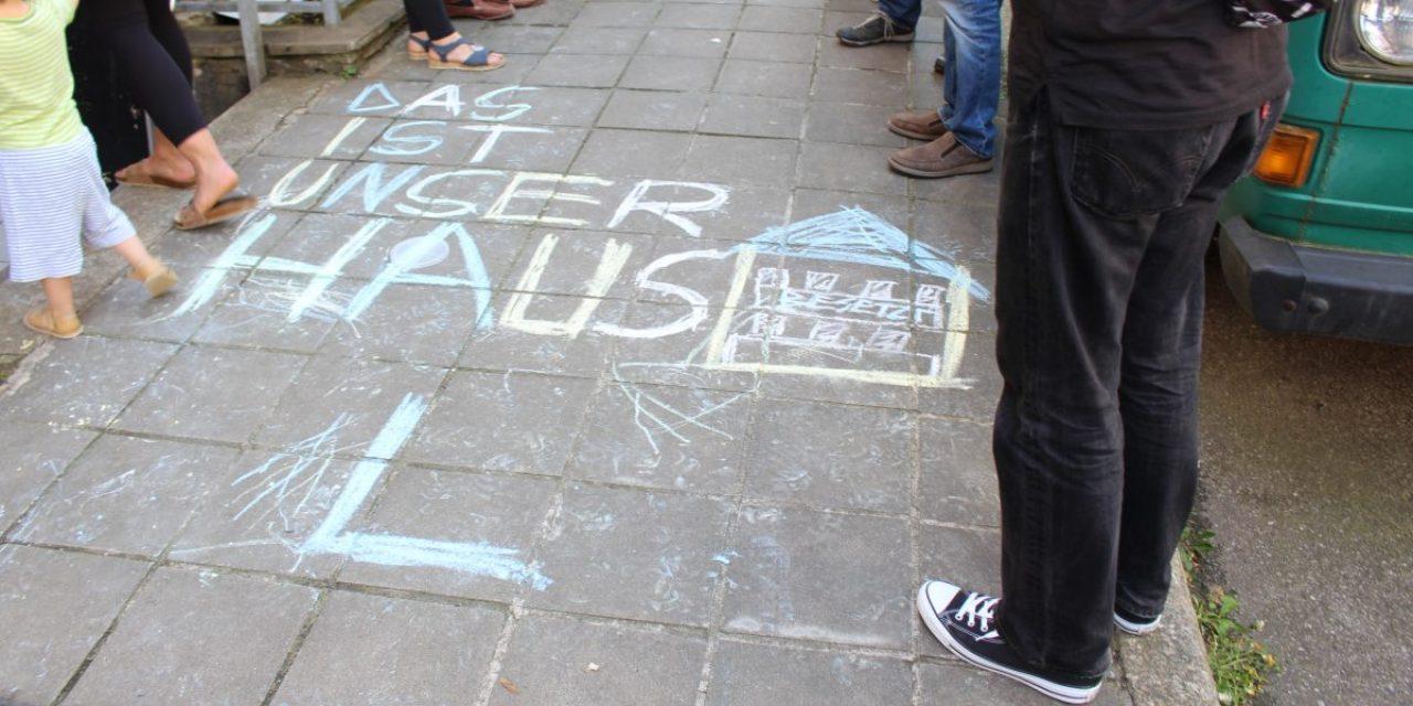 Kriminalisierung der Heslacher Hausbesetzung geht weiter – Prozess gegen Nachbarn am 28. Mai am Amtsgericht