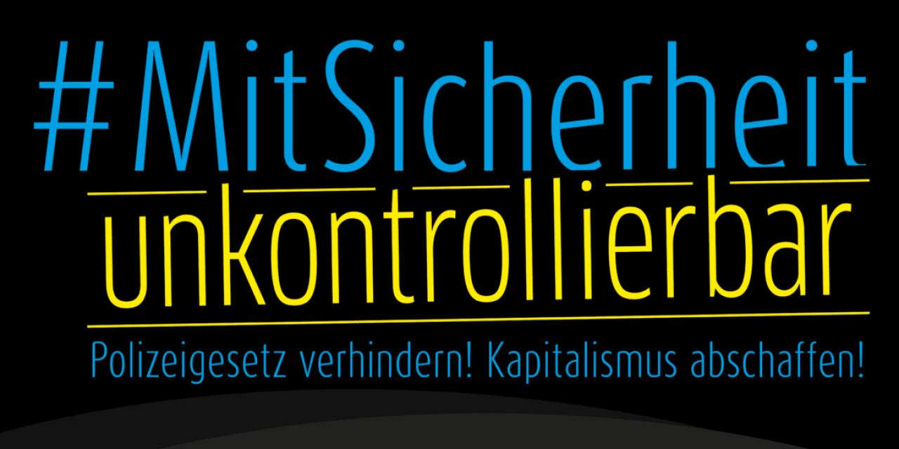 Antikapitalistischer Aufruf zur #NoPolGBW Demo am 13. Juli in Stuttgart