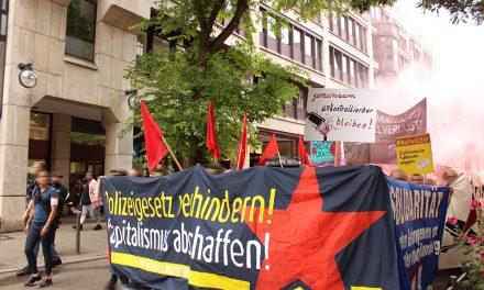 Bündnisdemo gegen Polizeigesetz
