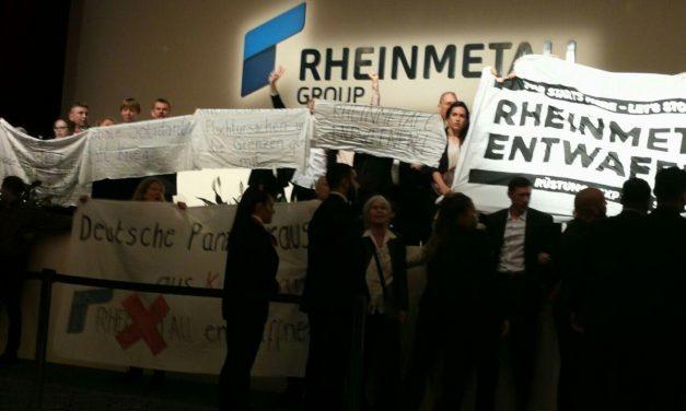 Mobi-Veranstaltung zum Rheinmetall entwaffnen Camp [Audiomitschnitt]