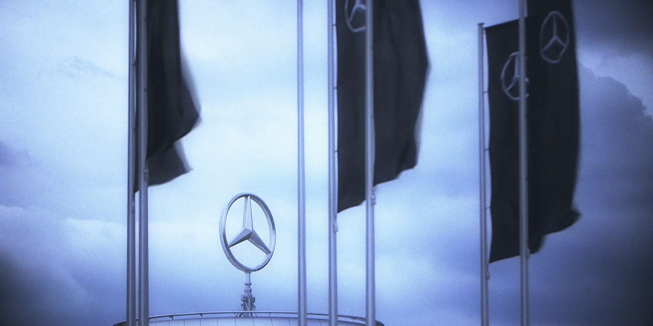 Nazi-Propaganda bei Daimler-Untertürkheim [Video]