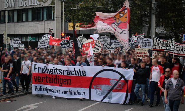 Freiheitsrechte verteidigen – Demonstration gegen Gesetzesverschärfung in Baden-Württemberg
