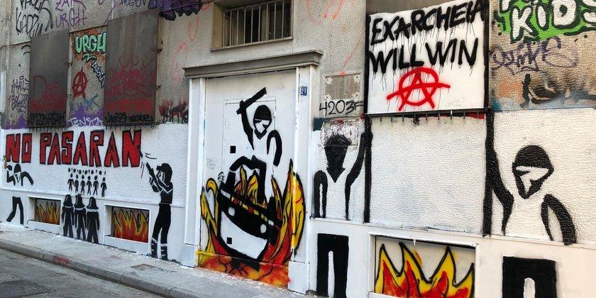 Startschuss der Angriffe auf das rebellische Viertel Exarchia in Athen