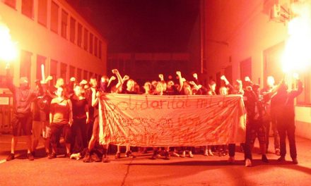 Solidarität mit den drei Genossen aus Nürnberg