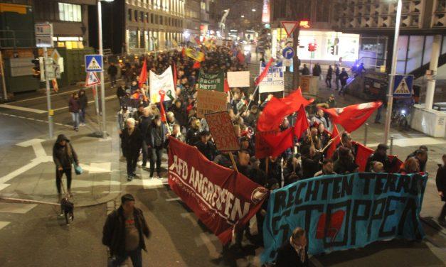 Proteste nach Nazi-Terror in Hanau