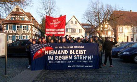 Strafprozess gegen Antifaschistin in Kandel – Kriminalisierungsversuch abgewehrt!