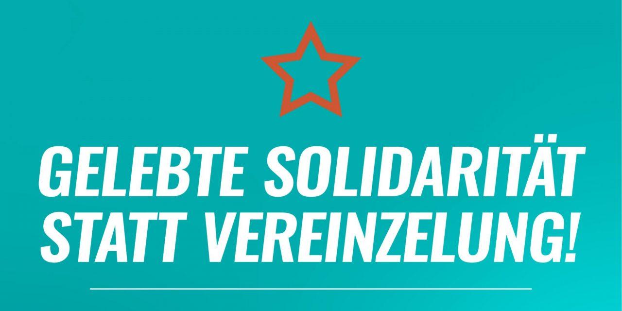 Solidarisches Stuttgart gestartet