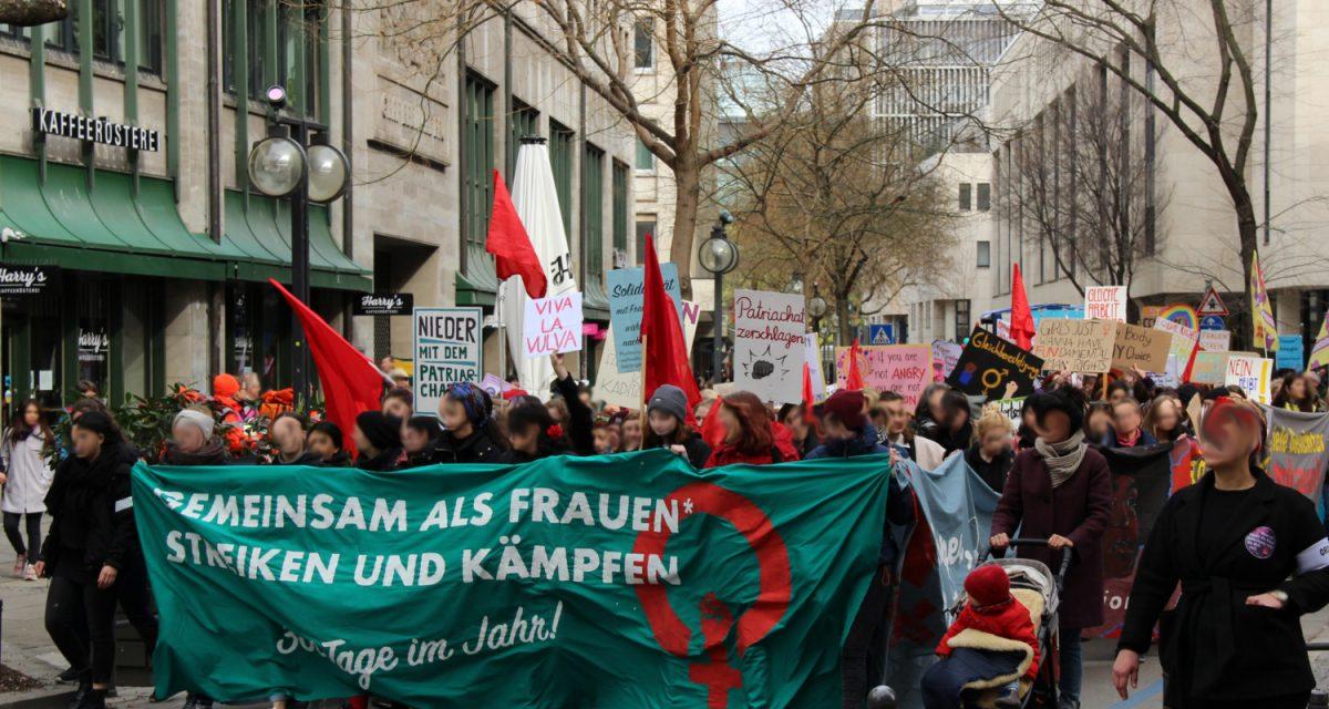 Frauen*kampftag 2020: Bericht über den Aktionstag und die Demonstration