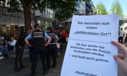 Deutschlandweite Beteiligung am Aktionstag für Freiheitsrechte