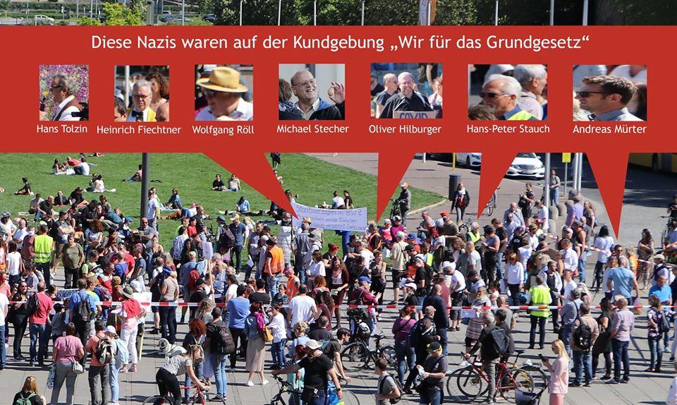 Freiheitsrechte nicht mit Nazis! 2. Mai um 14:30 Uhr auf den Schlossplatz