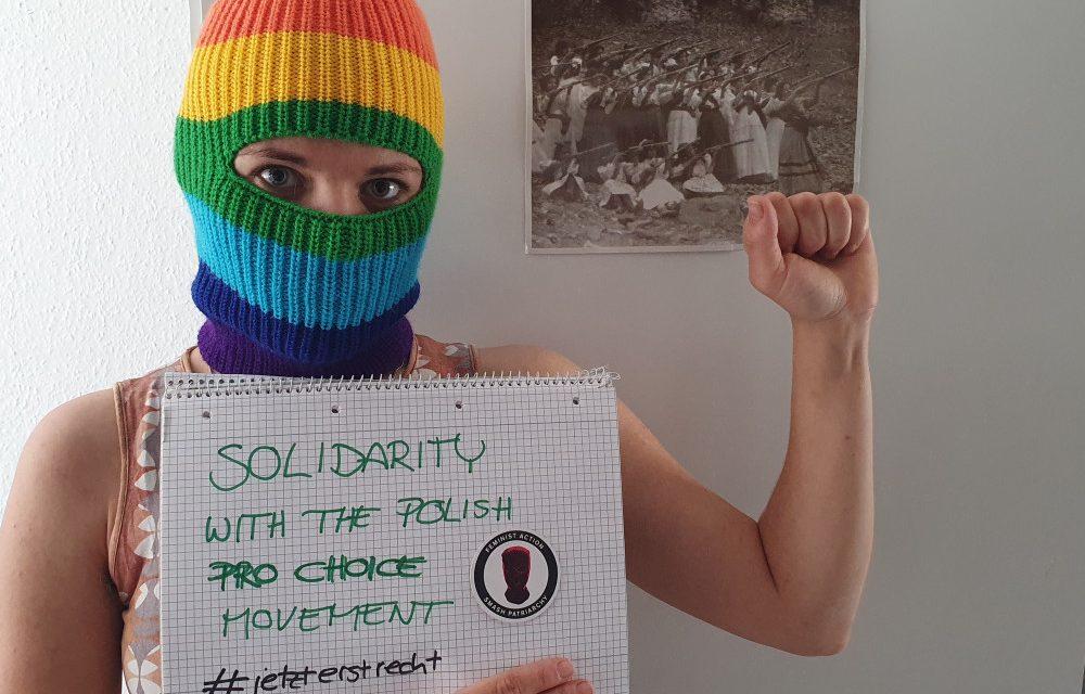 Bericht vom Aktionstag Frauen*solidarität! #jetzterstrecht