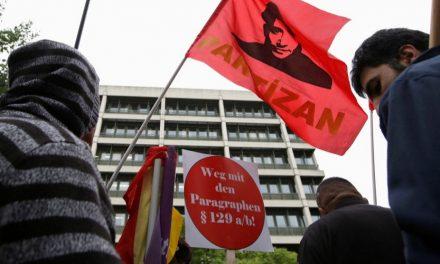 Solidarität mit den Angeklagten KommunistInnen im §129b Prozess in München