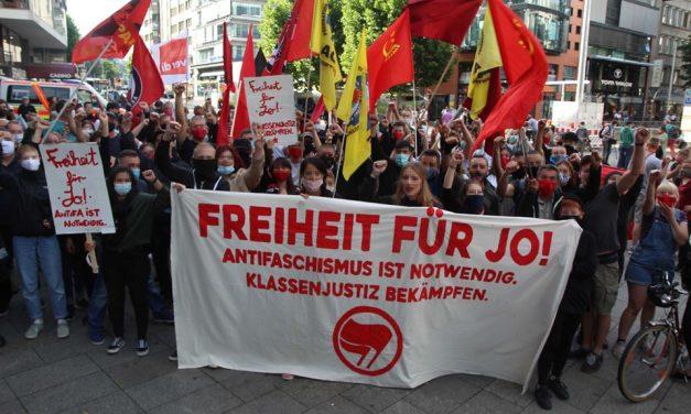 Freiheit für Jo! Solidarität organisieren. Neue Website online